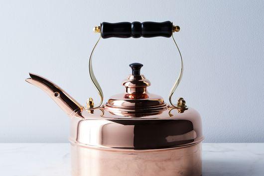 English Copper Tea Kettle