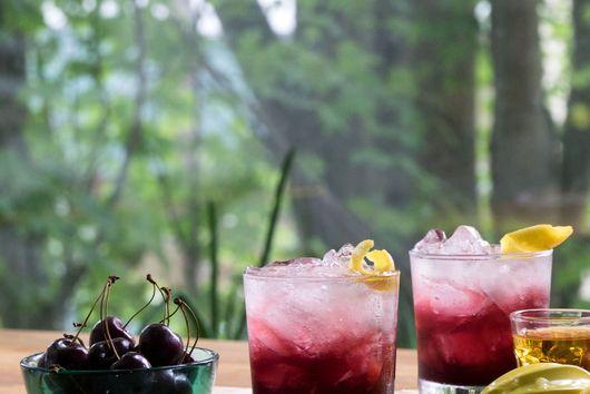 Sparkling Cherry Bourbon