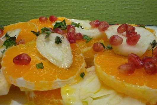 Fennel-Orange chilled salad