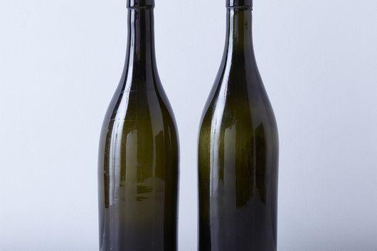 Vintage French Wine Bottles (Set of 2)