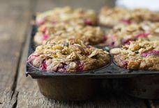 Cranberry Ginger Almond Crunch Muffins