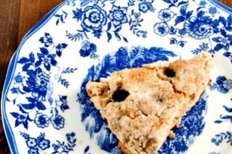 Gluten Free Coconut Raisin Scones