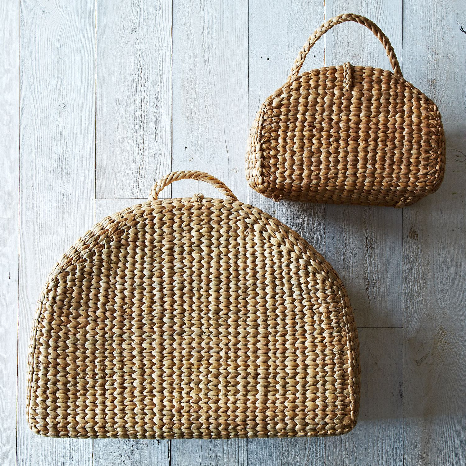 Handwoven Picnic Tote On Food52