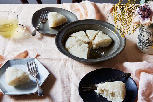 Steamed Sponge Cake (Bak Tong Gou)