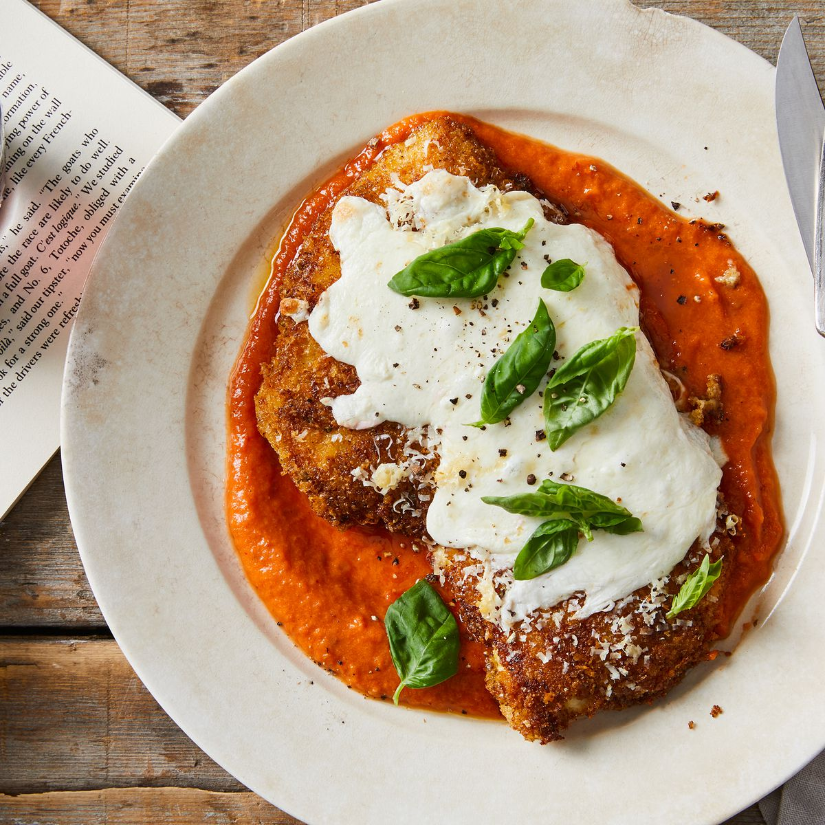 Crispy Chicken Parmesan With Fresh Tomato Sauce Recipe On Food52