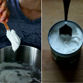 Whipped coconut milk by Nancy