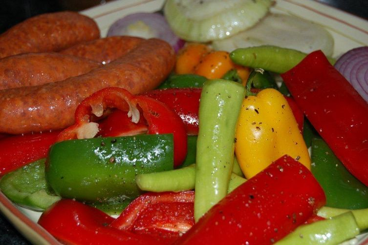 Not Your Godfather's Street Peppers and Sausage