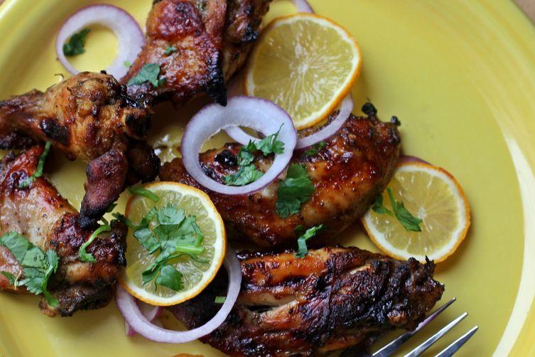 Honey and Meyer Lemon Chicken Wings