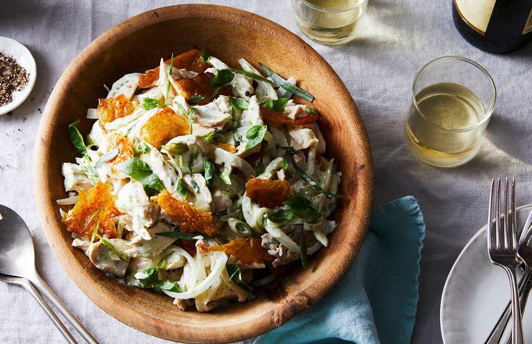 A Chicken Salad Where You Can Actually Taste the Chicken