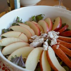 Kale, Apple and Cranberry Salad