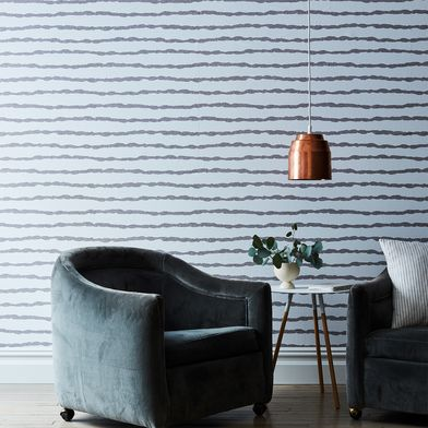 Self-Adhesive Wallpaper, Washed Lines