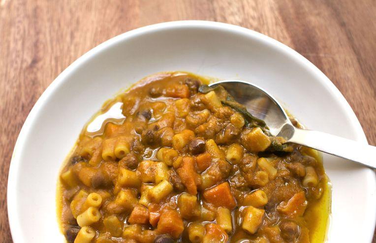Chickpea, Pumpkin, and Sage Stew