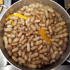 Spiced orange boiled peanuts