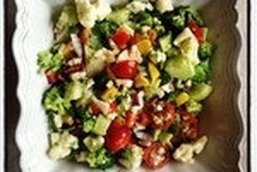 Raw Salad Méditéranée