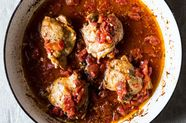 Braised Chicken Thighs with Tomato and Garlic