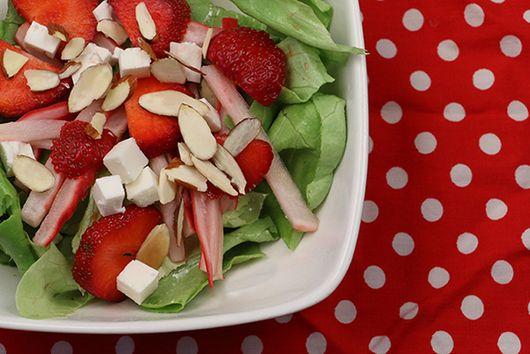 Strawberry & Pickled Radish Salad