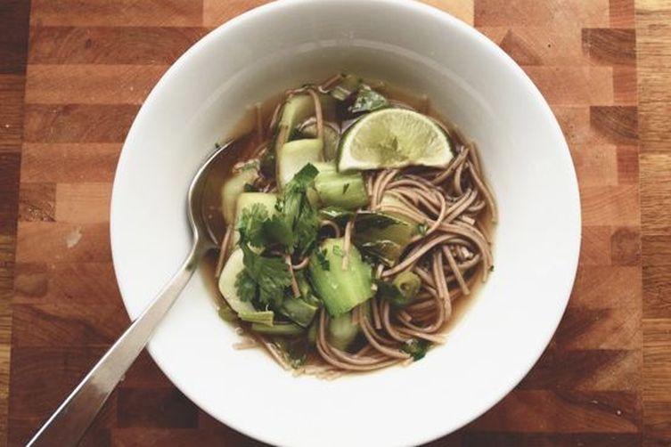 Ginger Noodle Soup