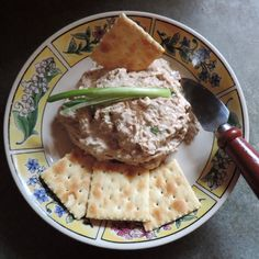 Smoky Tuna Spread with Green Onions