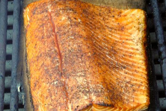 Cedar-Planked Salmon
