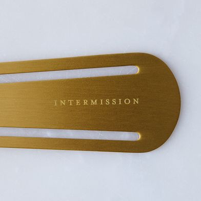 Brass-Plated Bookmarks (Set of 3)
