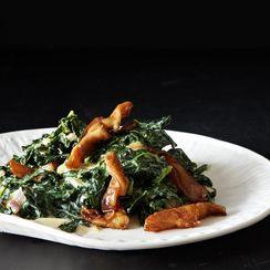Dinner Tonight: Miso-Creamed Kale