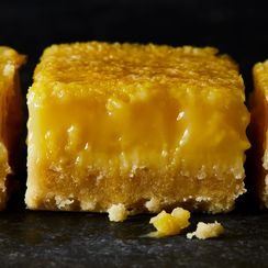 Lemon Bars With a Salty Olive Oil Crust