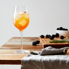 Smashed Blackberry-Sage Spritz