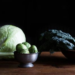 A Haiku or Two, on Winter Greens