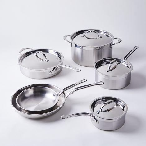 Hestan Probond Forged Stainless Steel Cookware, 10-Piece Set