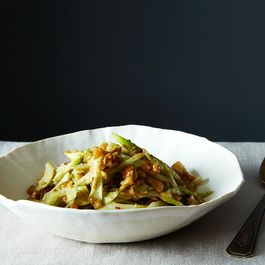 Slivered Celery and Walnut Salad