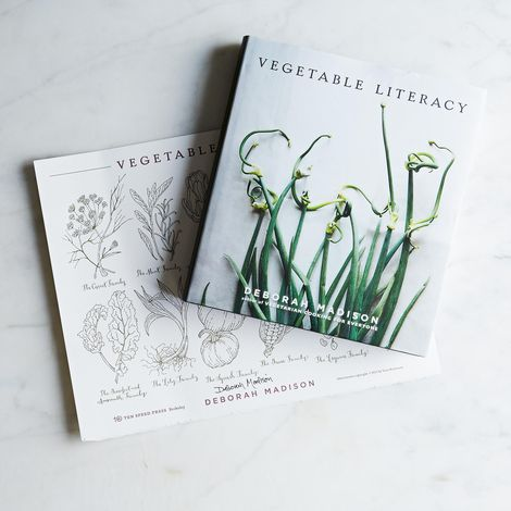 Vegetable Literacy Book & Print, Signed
