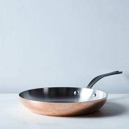 """Mauviel M150c2 Copper 10.2"""" Fry Pan"""