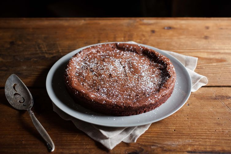Almost Flourless Chocolate Cake on Food52