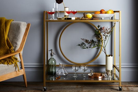 How to Build a Bar Cart (No Alcohol Necessary)