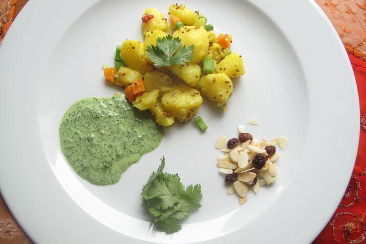 Indian-spiced potato salad Recipe on Food52