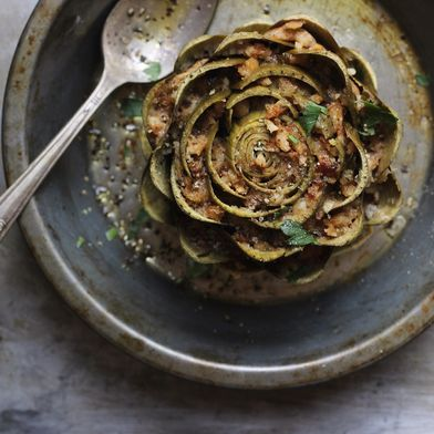 Stuffing Artichokes from Memory