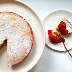 Almond & Coconut Cake: A Happy Accident
