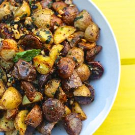 Crunchy Summer Potato Medley | Roasted Potatoes With Hazelnuts & Herbs