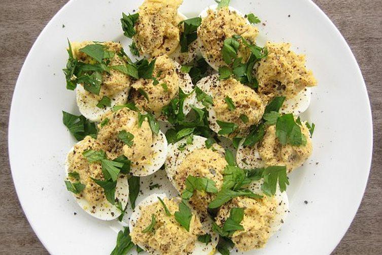 Tonnato Deviled Eggs