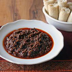 Kai Wot (Ethiopian Beef Stew) Spicy!