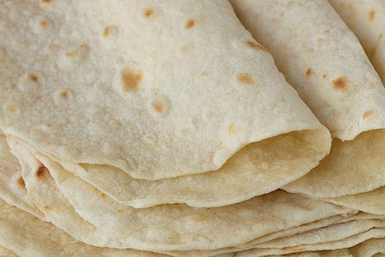 Easy Homemade Tortillas