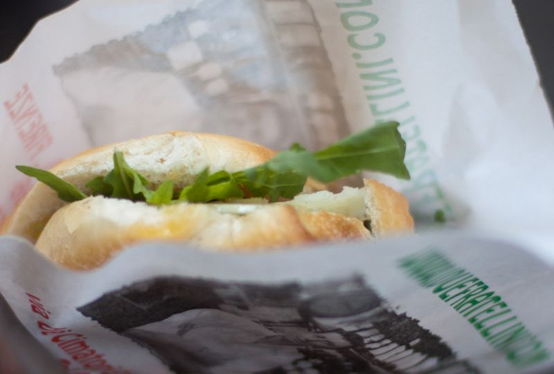 A classic Florentine panino from I Due Fratellini.