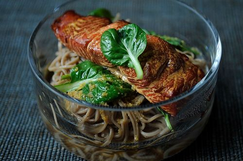 Smoked Salmon and Soba Salad on Food52