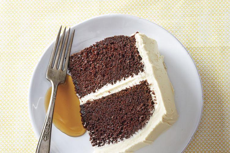 Darkest Chocolate Cake + Cola Cake Variation