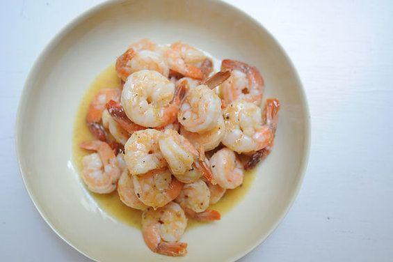 Southern Sherried Shrimp