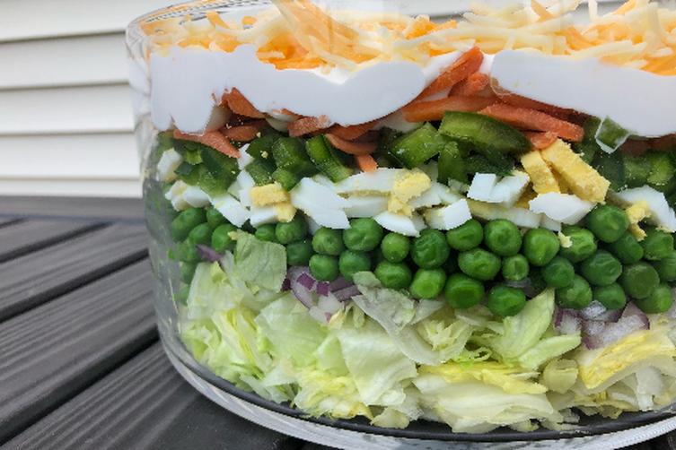 Gourmet Layered Salad