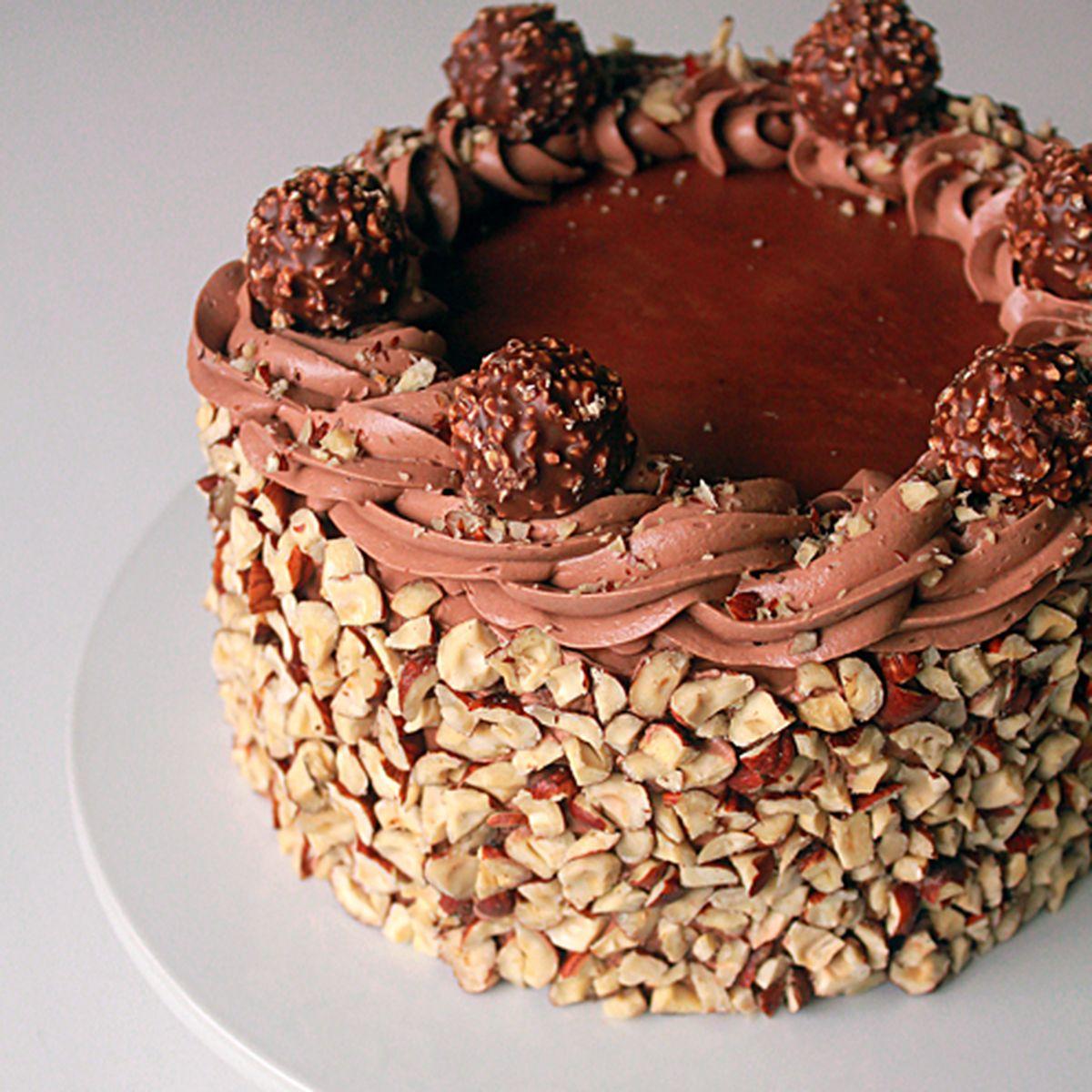 3f50f31cb306 Ferrero Rocher Cake Recipe on Food52