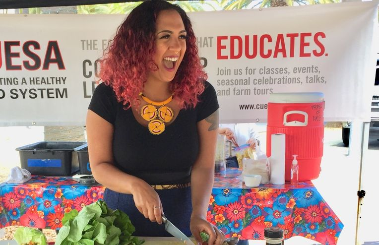 The Woman Teaching People How to Eat Well on a Food Stamp Budget