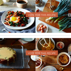 Vote for the Winner of Your Best Recipe Made with Coffee