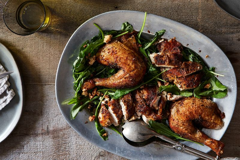 This Genius, Crazy-Good Roast Chicken Has a Funny Little Secret
